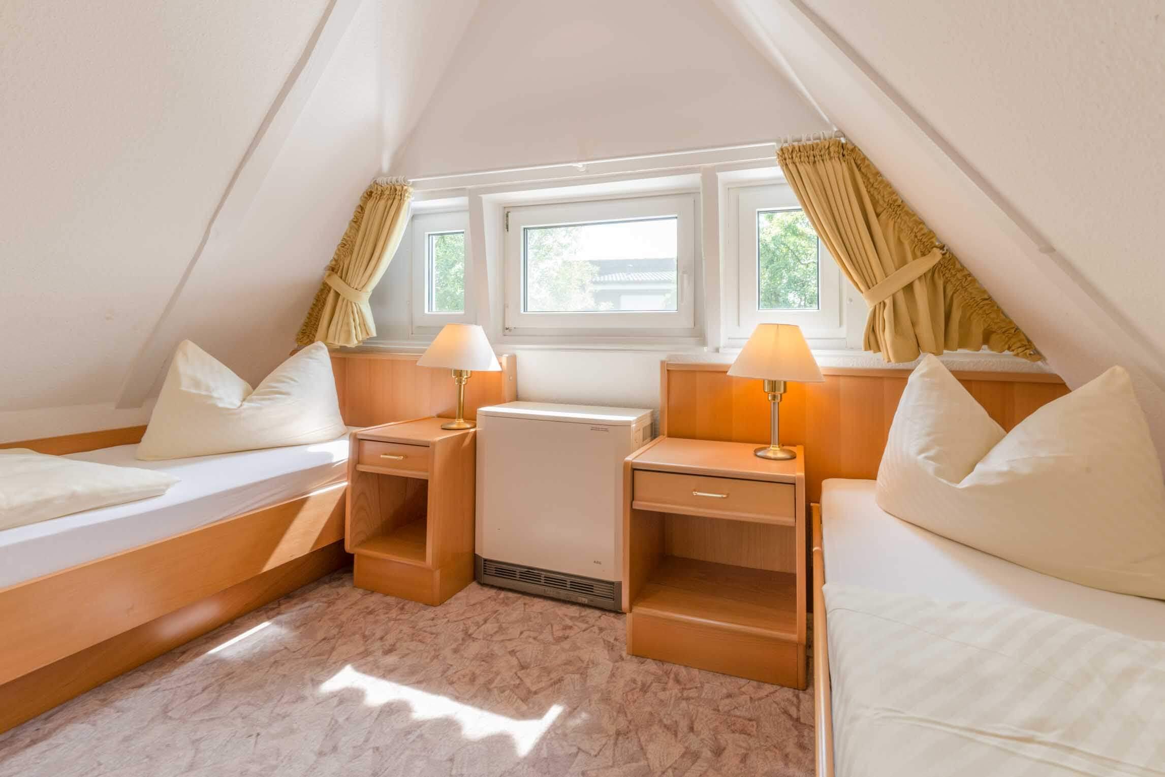 Ferienhaus Braband Cuxhaven Schlafzimmer