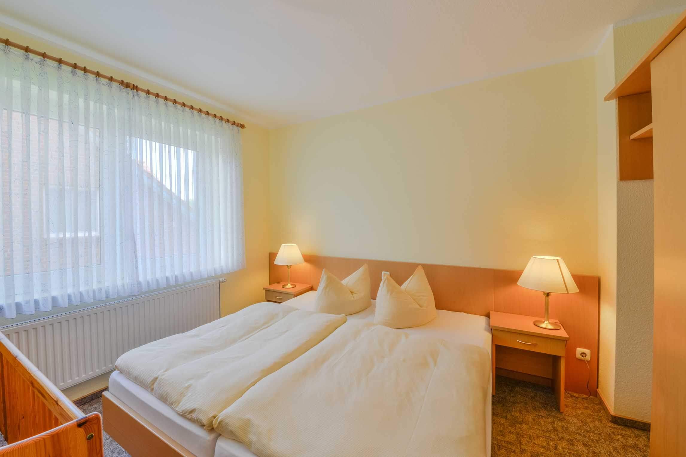 Ferienwohnung Braband Cuxhaven Schlafzimmer