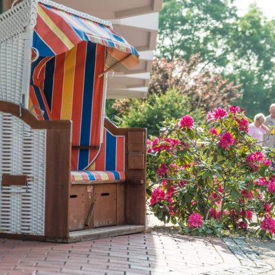 Hotel Braband Cuxhaven Strandkorb