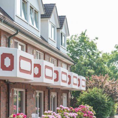 Hotel Braband Cuxhaven Außenansicht