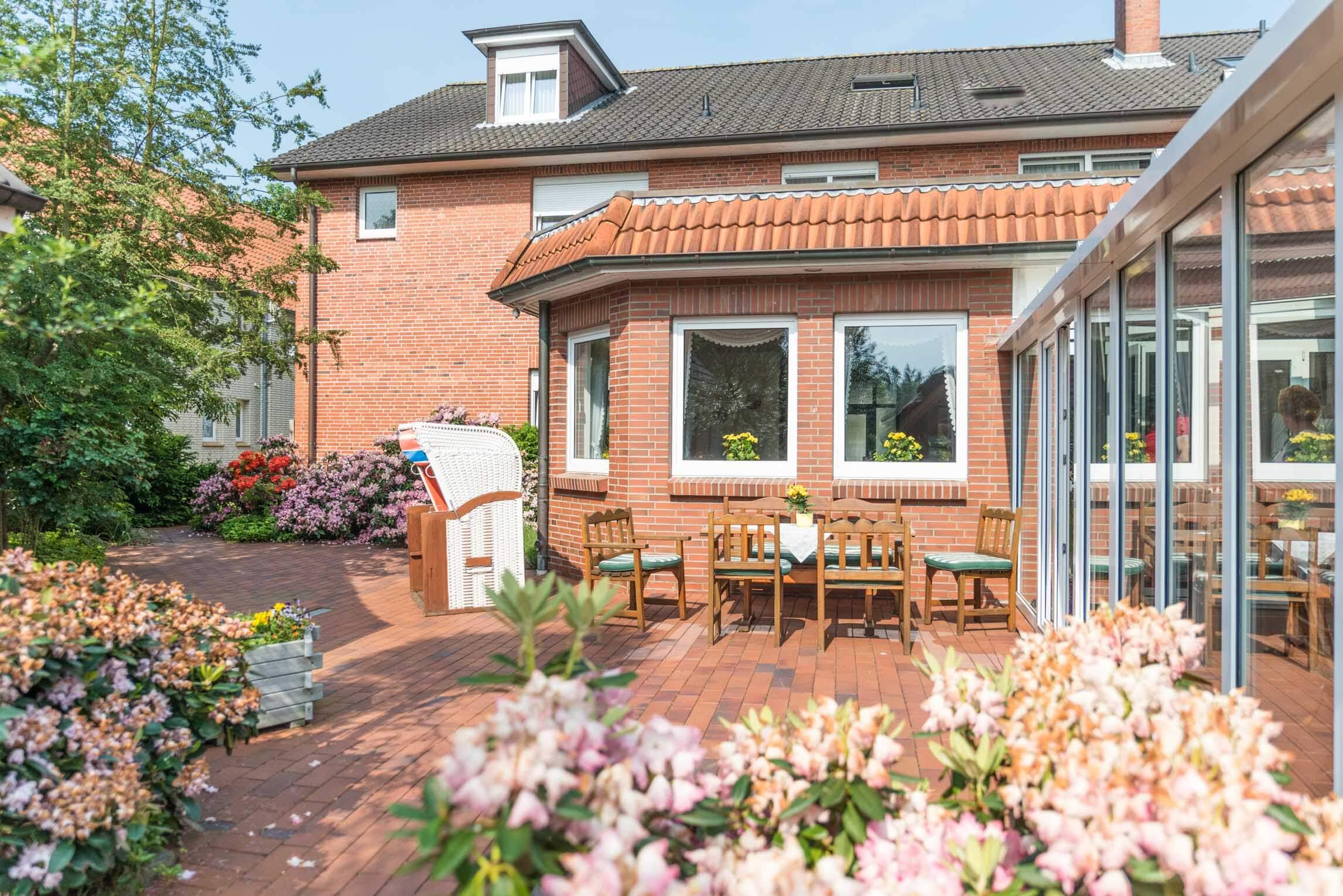 Hotel Braband Cuxhaven Garten